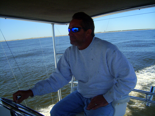 Outer Banks Captain Olan West of the West Wind